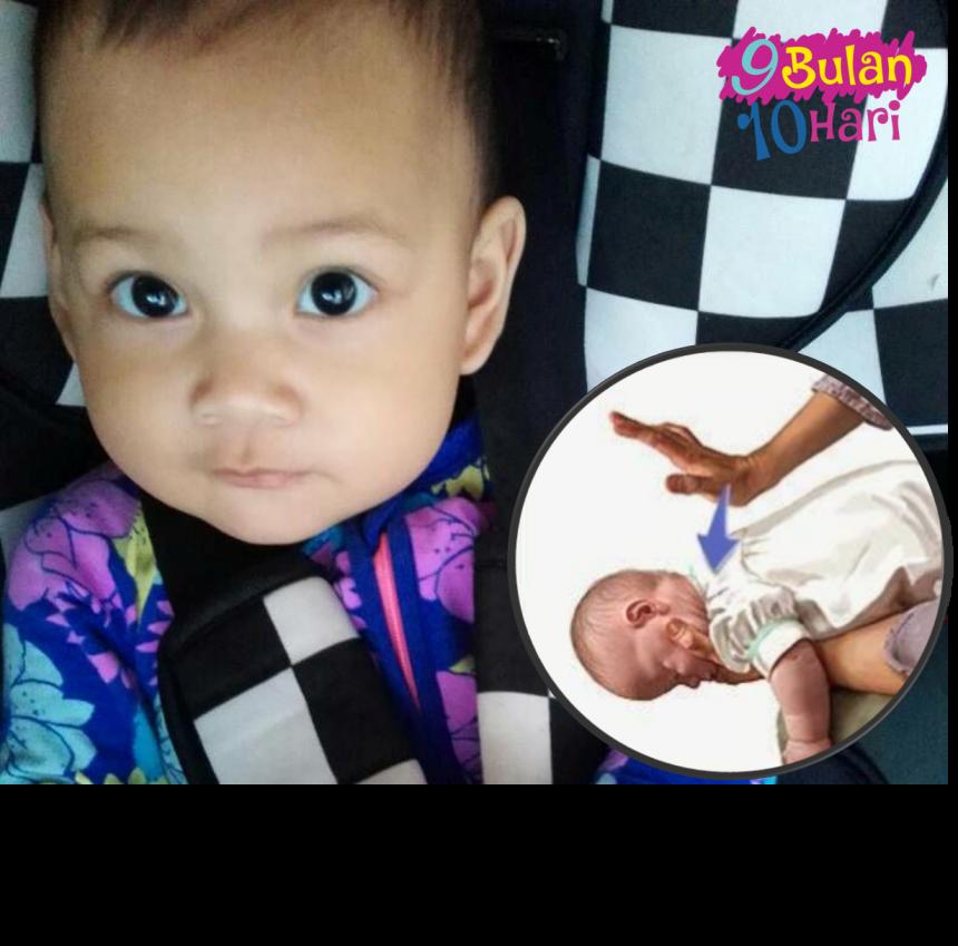 Bayi Tersedak Air Liur – Tindakan Ibu Bapa Ini Berjaya Selamatkannya