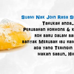 Hanya Yang Pernah Makan Saja Yang Akan Faham Betapa Sedapnya Sabun Warna Kuning… Yummy…