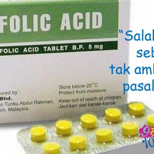 Tolonglah Makan Asid Folik & Selamatkan Anak Dari Spina Bifida, Anencephaly & Encephalocele