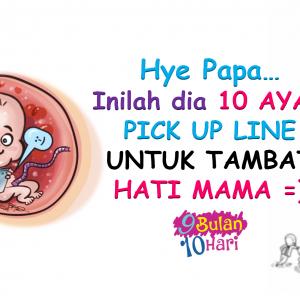 Hye Papa… Ini 10 Ayat Pick Up Line Untuk Tambat Hati Mama…
